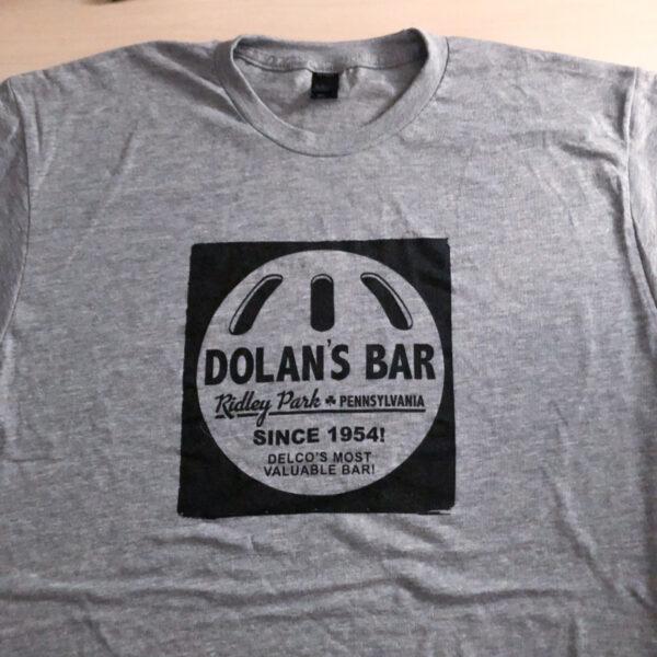 Dolan's Bar Wiffle Ball shirt gray